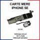Carte mère pour iphone SE - 32 Go - Bouton home Blanc