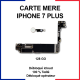 Carte mère pour iphone 7 plus - 128 Go - bouton home or rose