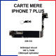 Carte mère pour iphone 7 plus - 256 Go - bouton home blanc