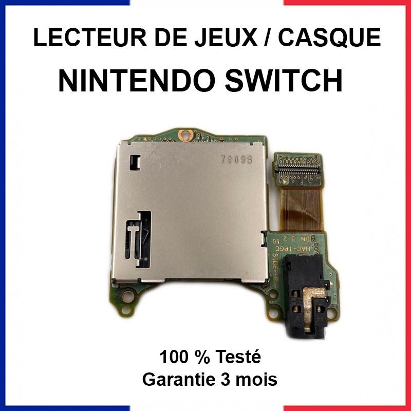 lecteur de cartouche de jeux nintendo switch