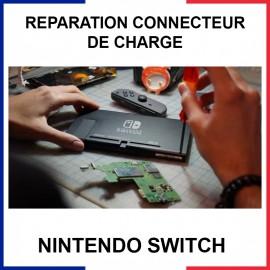 Réparation connecteur de charge Nintendo Switch