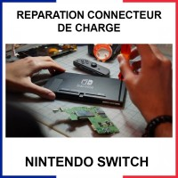 Réparation connecteur de charge Nintendo Switch
