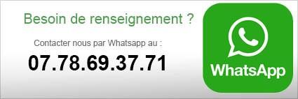 contacter carte-mere.com par whatsapp